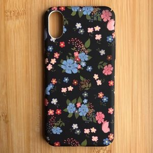 Accessories - NEW Iphone X Floral Pattern Case